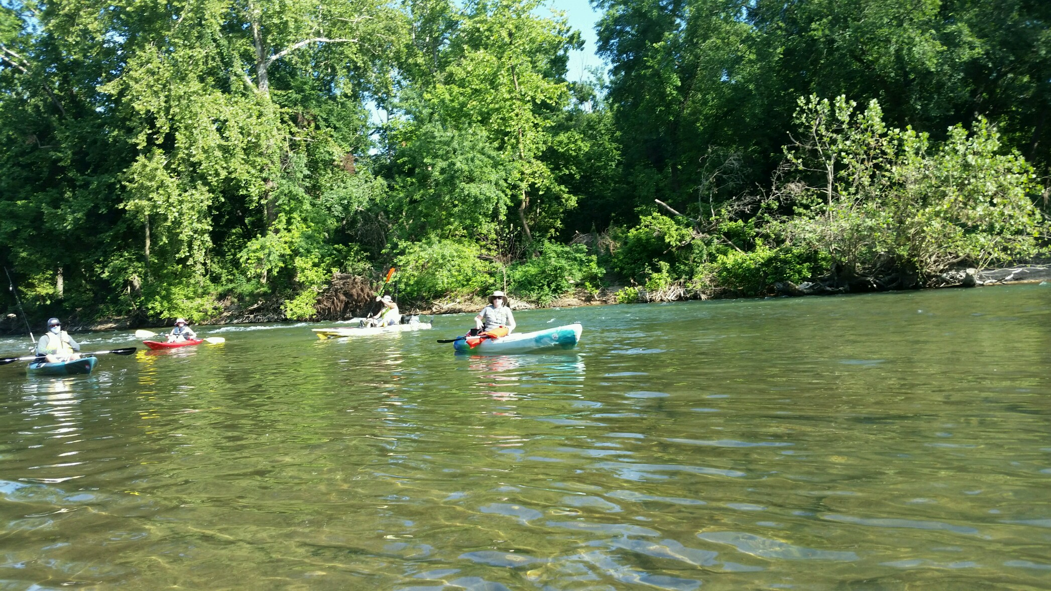 Great Day On The Elk River