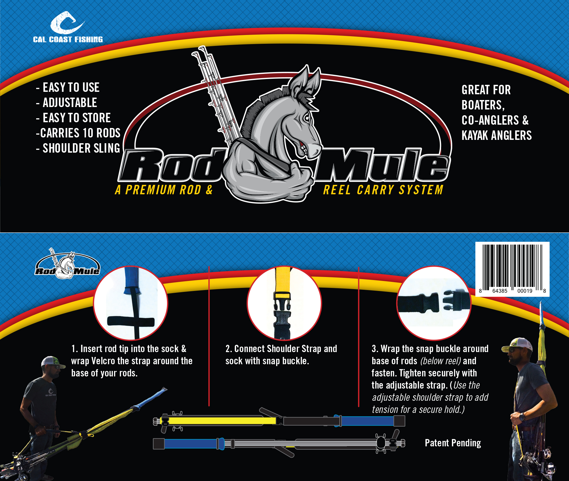 Cal Coast Fishing's Rod Mule