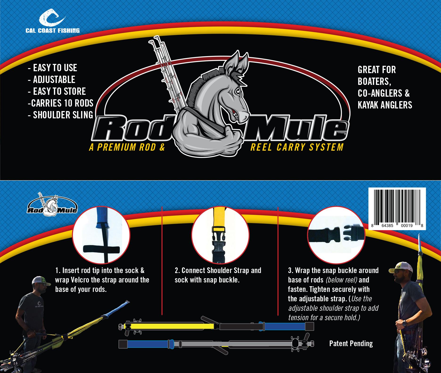 Cal Coast Fishing's Rod Mule