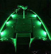 Green Deck Lights
