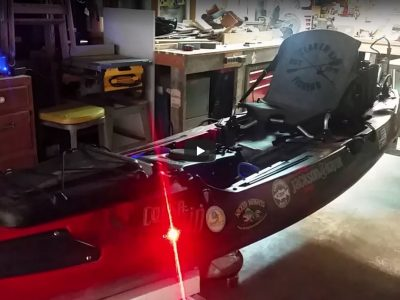 Loving My Tricked Out Marine Kayak Lights