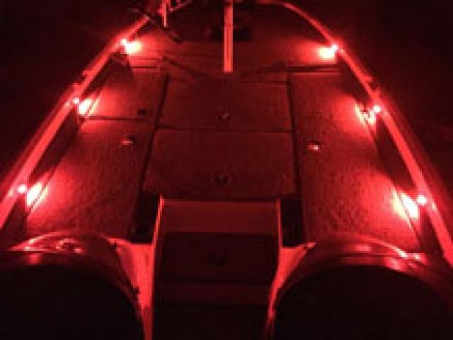 Red Deck Lights